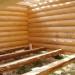 Сруб дома бани 6х6+рубленная веранда