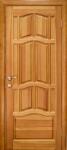 Дверь Ампир новая, массив сосны 2*0,9м с коробкой