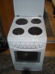 Плита   электро 4 комфорки духовке ariston